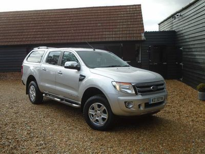 used Ford Ranger 2.2 TDCi Limited Double Cab Pickup 4x4 4dr (EU5)