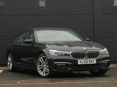 used BMW 740L 7 Series d xDrive M Sport Saloon 3.0 4dr