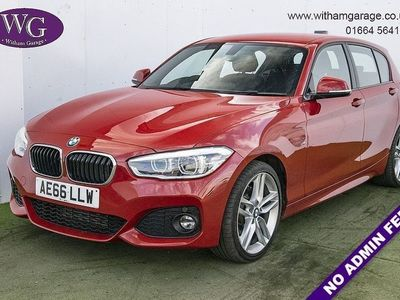 used BMW 120 1 Series 2.0 D M SPORT 5d 188 BHP 5-Door