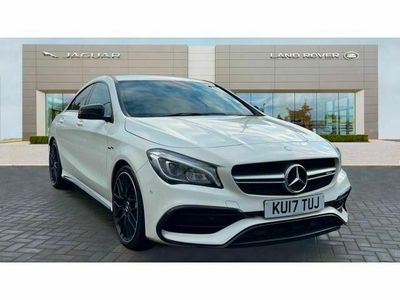 used Mercedes CLA45 AMG CLA Class[381] 4Matic 4dr Tip Auto Saloon 2017