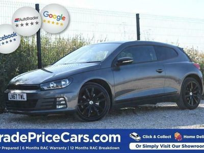 used VW Scirocco 2.0 GT BLACK EDITION TSI BMT 2d 178 BHP FREE DELIV coupe