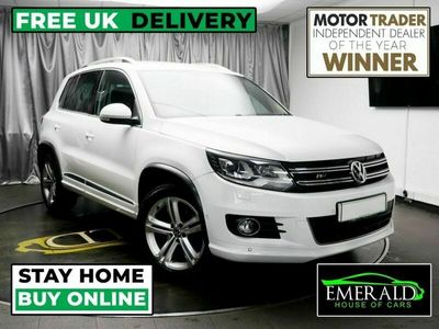 used VW Tiguan 2.0 R LINE EDITION TDI BMT 4MOTION DSG 5d AUTO 148 BHP £0 DEPOSIT FINANCE A