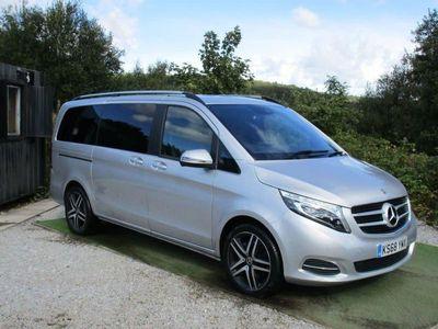 used Mercedes V220 V-Class 2.1D SPORT L 5d 161 BHP SLIDING PAN ROOF MEGA SPEC!!