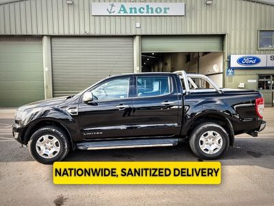 used Ford Ranger AUTOMATIC Crew Cab 4x4 Limited Tdci Alloys, Air Con, Sensors, Cr