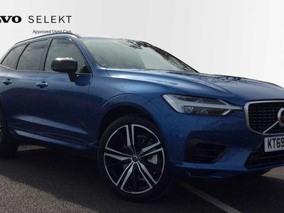 used Volvo XC60 II T8 Twin Engine R-Design Pro Auto ( Delivery Miles, Sunroof, 360* Camera, Bl 2.0 5dr