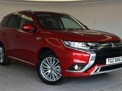 used Mitsubishi Outlander 2.4 PHEV Design 5dr Auto Estate - service plan included