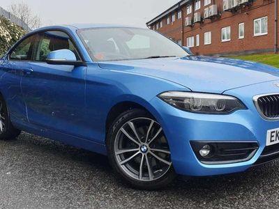 used BMW 220 2 SERIES 2017 Blackpool i Sport 2dr [Nav] Step Auto