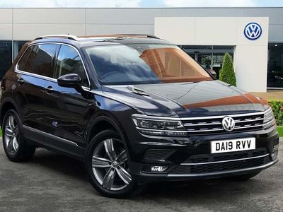 used VW Tiguan 2.0 Tdi 190 4Motion Sel 5Dr Dsg