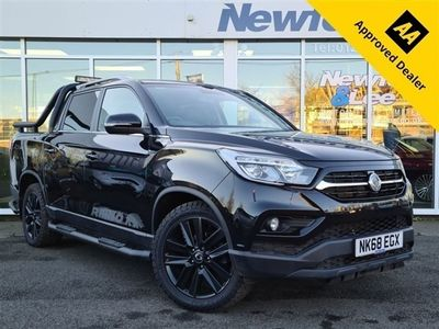 used Ssangyong Musso 2.2 RHINO 4d 179 BHP