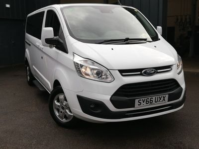 used Ford Custom Transit2.0 TDCi 170ps Low Roof 8 Seater Titanium