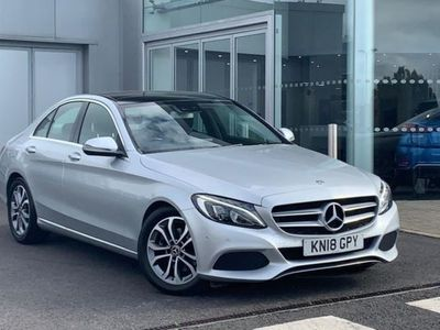 used Mercedes 220 C ClassSport Premium + D A Auto 4-Door