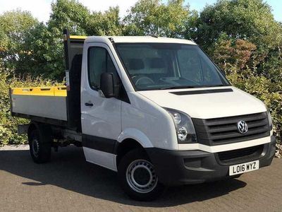 used VW Crafter 2.0 TDI 109PS Tipper 'Engineered to Go'