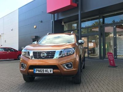 used Nissan Navara 2.3 dCi Tekna Double Cab Pickup Auto 4WD 4dr (Sunroof), 2020, not known, 3168 miles.