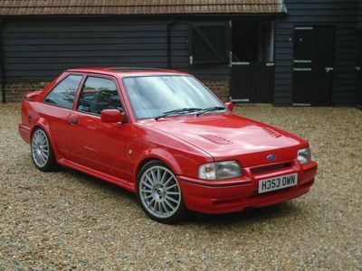 used Ford Escort 1.6 Turbo RS 3dr