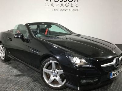 used Mercedes SLK200 SLKBlueEFFICIENCY AMG Sport 2dr Tip Auto