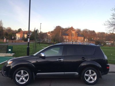 used Mitsubishi Outlander 2.0 DI-D Warrior 5dr