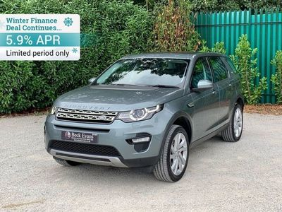 used Land Rover Discovery Sport Discovery Sport 20172.0 TD4 HSE 5d AUTO 180 BHP 2017