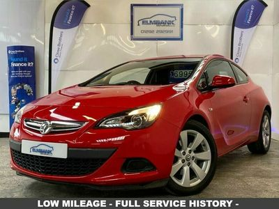 used Vauxhall Astra GTC 1.4 SPORT S/S 3d 118 BHP Hatchback 2016
