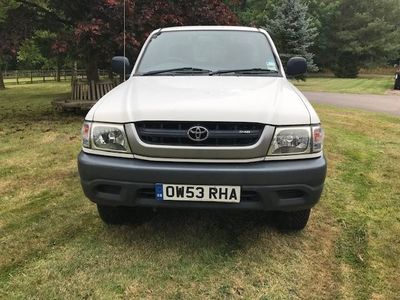 used Toyota HiLux 2.5 250 EX 2dr