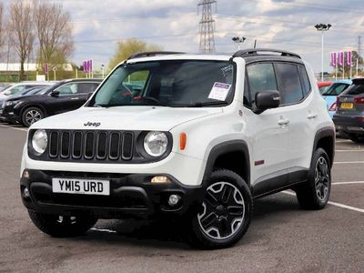 used Jeep Renegade 2.0 Multijet Trailhawk 5dr 4WD Auto 4x4 2015