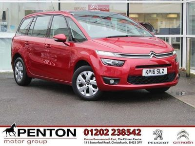 used Citroën Grand C4 Picasso 1.2 PureTech VTR+ (s/s) 5dr - PETROL - £30 TAX - LOW MILES 2016