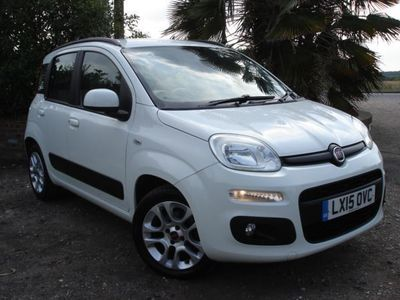 used Fiat Panda 1.2 LOUNGE 5dr, 1 Owner From New, White