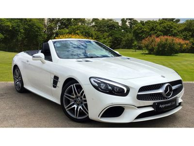 used Mercedes SL500 AMG Line Premium 2dr 9G-Tronic Petrol Convertible