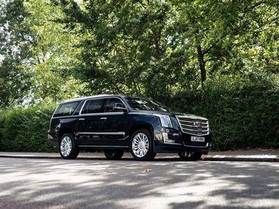 used Cadillac Escalade ESV Platinum RHD
