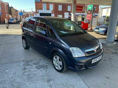 used Vauxhall Meriva 1.6 i 16v Breeze Easytronic 5dr
