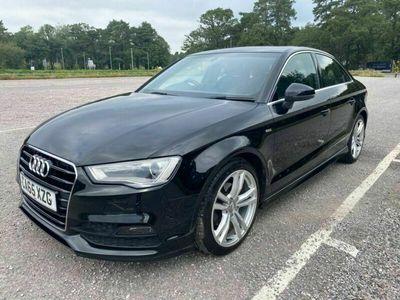 used Audi A3 2.0 TDI S line (s/s) 4dr (Nav)