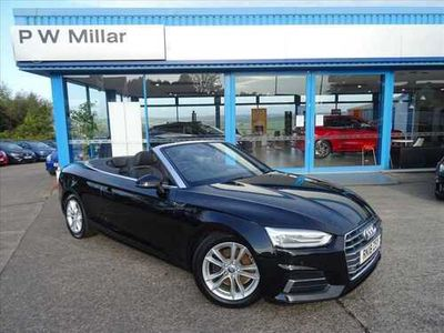 used Audi A5 Cabriolet Convertible 2018
