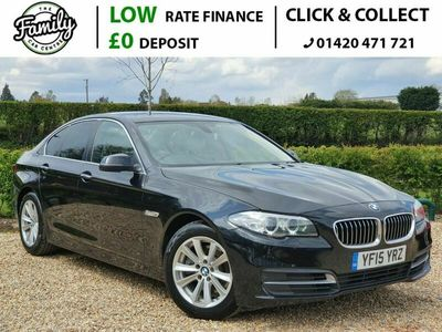 used BMW 518 5 SERIES 2.0 D SE 4d 148 BHP ***ULEZ APPROVED + LOW EMISSIONS***