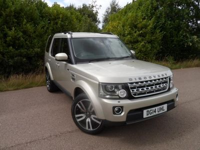 used Land Rover Discovery 4 Discovery 4 3.0SD V6 (255bhp) HSE Luxury Station Wagon 5d 2993cc Auto 20144x4