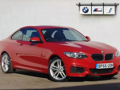 used BMW 218 2 SERIES 2016 Hull i M Sport 2dr [Nav] Step Auto