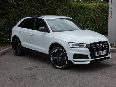 used Audi Q3 Black Edition 1.4 TFSI cylinder on demand 150 PS S tronic 5dr