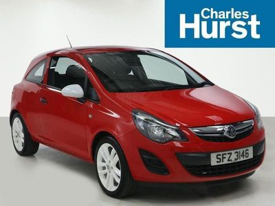 used Vauxhall Corsa HATCHBACK SPECIAL EDS 1.2 Sting 3dr