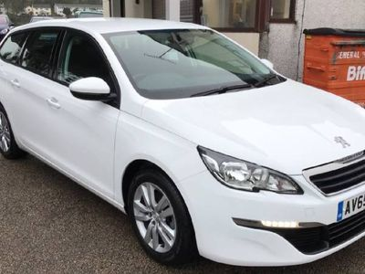 used Peugeot 308 DIESEL MANUAL ESTATE 5 DOORS
