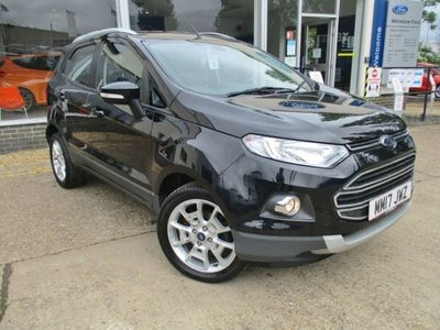 used Ford Ecosport TITANIUM TURBO 1.0 5dr