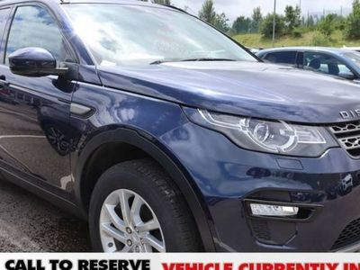 used Land Rover Discovery Sport DIESEL AUTOMATIC ESTATE 5 DOORS