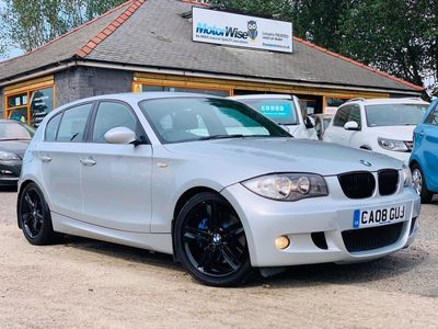 used BMW 123 1 Series d M Sport 5dr 2008 leather