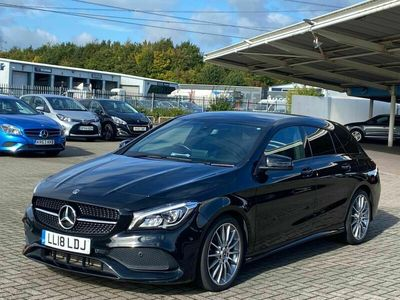 used Mercedes CLA200 Shooting Brake Cla Class 2.1 d AMG Line 5dr Diesel (s/s) (136 ps)