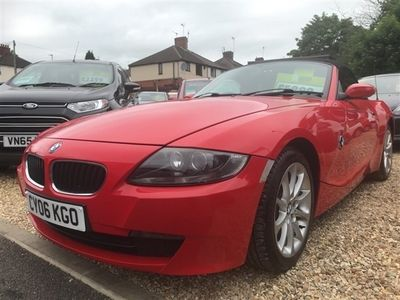 used BMW Z4 Z4 2.5SE ROADSTER 2d 175 BHP Convertible 2006