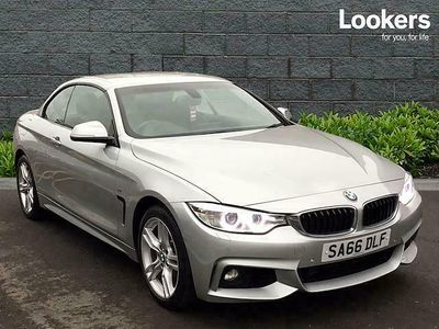 used BMW 435 4 SERIES DIESEL CONVERTIBLE d xDrive M Sport 2dr Auto [Professional Media]