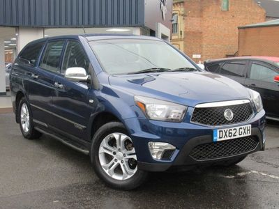 used Ssangyong Korando Sports 2.0 TD EXT Pickup 4WD 4dr