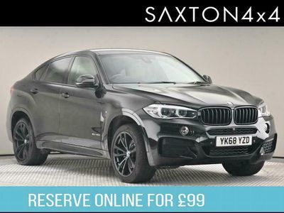 used BMW X6 3.0 40d M Sport Auto xDrive (s/s) 5dr