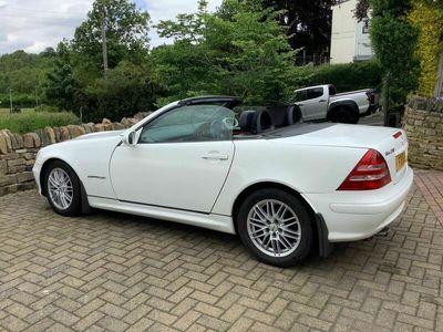 used Mercedes SLK230 SLK 2.3Kompressor 2dr