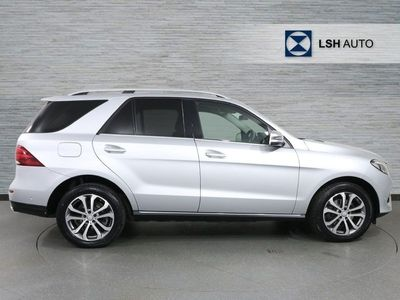 used Mercedes GLE250 GLE Class GLE4Matic Sport 5Dr 9G-Tronic suv 2017