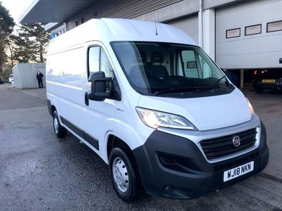 used Fiat Ducato 2.3 Multijet Tecnico High Roof Van 130