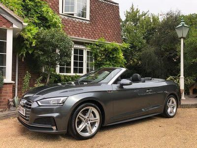 used Audi A5 Cabriolet Cabriolet 3.0 TDI V6 S line S Tronic quattro (s/s) 2dr