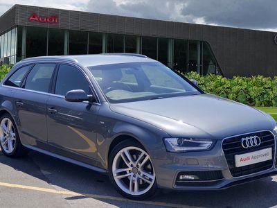 used Audi A4 Avant S line 2.0 TDI 150 PS 6 speed